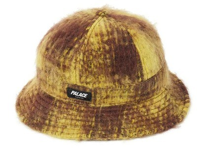 Palace Bless Up Wool Bucket Hat Brown/Yellow (SS21)の写真