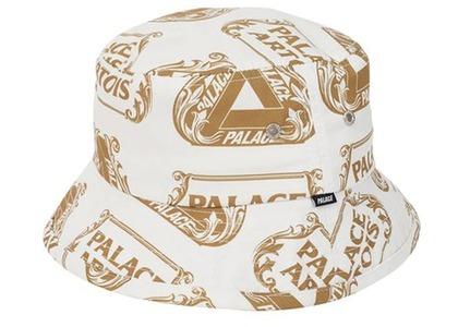 Palace Stella Artois Bucket Hat White/Gold - (SS21)の写真