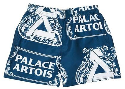 Palace Stella Artois Swim Short Navy/White (SS21)の写真