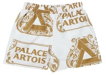 Palace Stella Artois Swim Short White/Gold (SS21)の写真