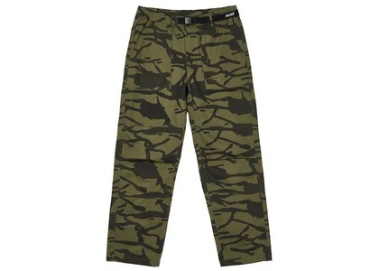 Palace Belter Trousers Olive/Camo (SS21)の写真