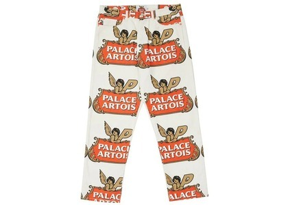 Palace Stella Artois Pant White/Red/Gold (SS21)の写真