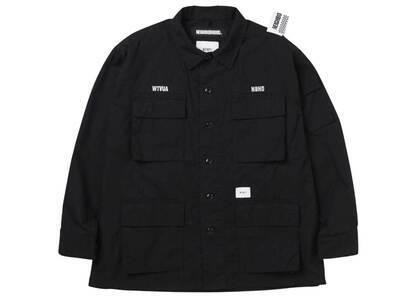 Wtaps × Neighborhood Jungle LS Shirt Blackの写真