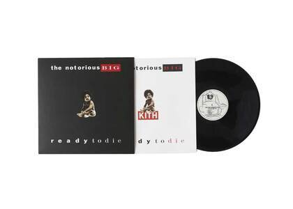 Kith for The Notorious B.I.G The Notorious Big Ready To Die LP Vinyl Black の写真