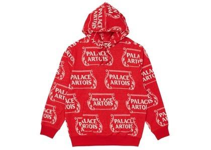 Palace Stella Artois Hood Red/White Towel  (SS21)の写真