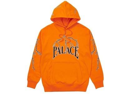 Palace Lightning Speed Hood Orange  (SS21)の写真