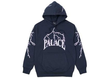 Palace Lightning Speed Hood Navy  (SS21)の写真