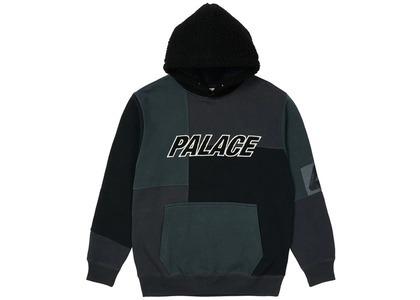 Palace Fleeced Hood Black  (SS21)の写真