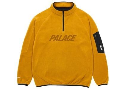 Palace Polartec 1/4 Zip Mustard  (SS21)の写真