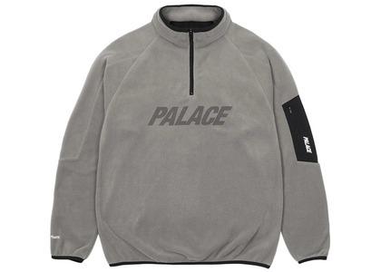 Palace Polartec 1/4 Zip Grey  (SS21)の写真