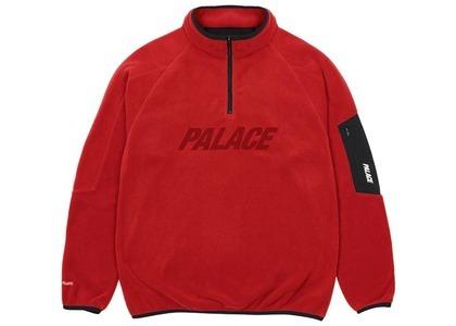 Palace Polartec 1/4 Zip Red  (SS21)の写真