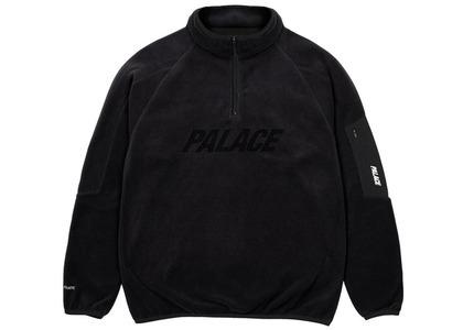 Palace Polartec 1/4 Zip Black  (SS21)の写真