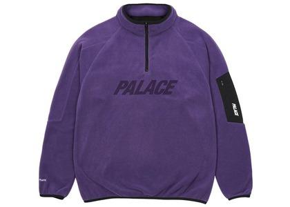 Palace Polartec 1/4 Zip Purple  (SS21)の写真