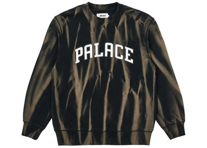 Palace TryDye Crew Black/White  (SS21)の写真