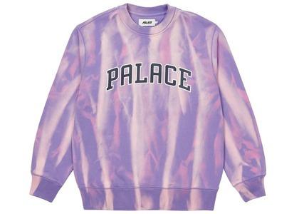 Palace TryDye Crew Purple/White  (SS21)の写真