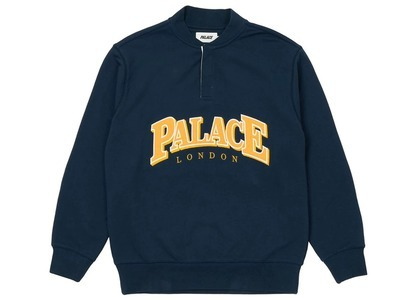 Palace Giant Button Up Crew Navy  (SS21)の写真