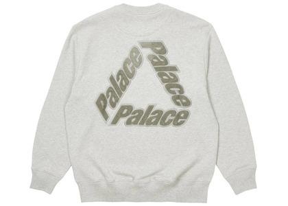 Palace P3 Chenille Crew Grey Marl  (SS21)の写真