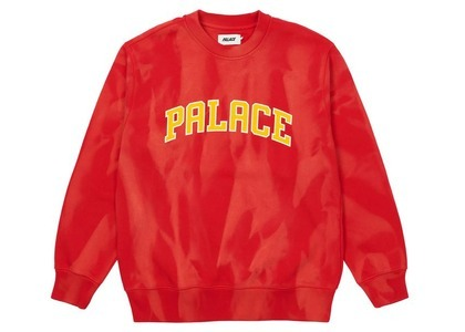 Palace TryDye Crew Red/White  (SS21)の写真