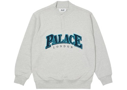 Palace Giant Button Up Crew Grey Marl  (SS21)の写真