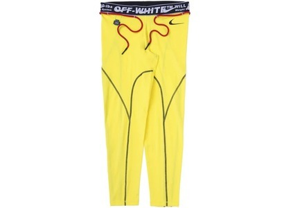 Off-White × Nike Women's Tights Opti Yellow (SS20)の写真