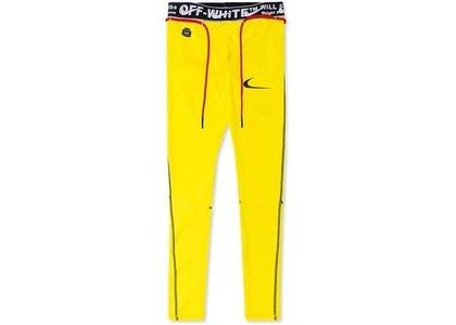Off-White × Nike Tights Opti Yellow (SS20)の写真
