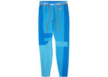 Off-White × Nike Women's Easy Run Tight Photo Blue (SS19)の写真