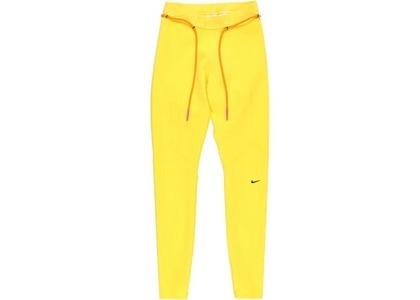 Off-White × Nike Women's Running Tight Yellow (FW19)の写真