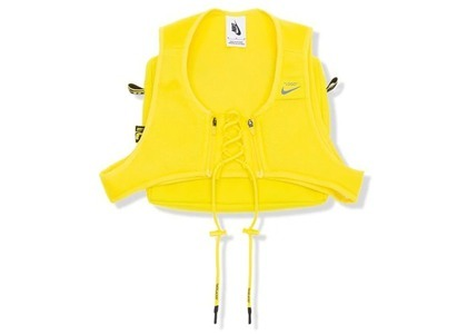 Off-White × Nike Women's NRG × Cross Bib Optic Yellow (FW19)の写真