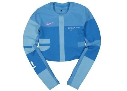 Off-White × Nike Women's Easy Run Top Photo Blue (SS19)の写真