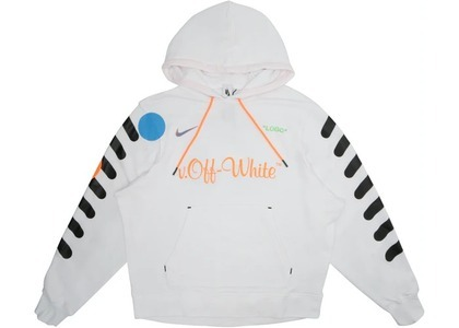 Off-White × Nikelab Mercurial NRG × Hoodie White (SS18)の写真