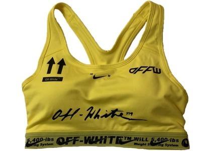 Off-White Nike Sports Bra Yellow (FW19)の写真