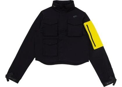 Off-White × Nike Women's Running Jacket Black/Yellow (FW19)の写真