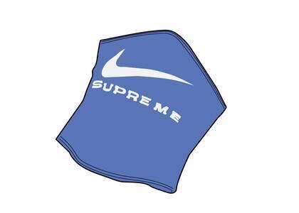 Supreme Nike Neck Warmer Blue (SS21)の写真