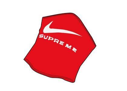 Supreme Nike Neck Warmer Red (SS21)の写真