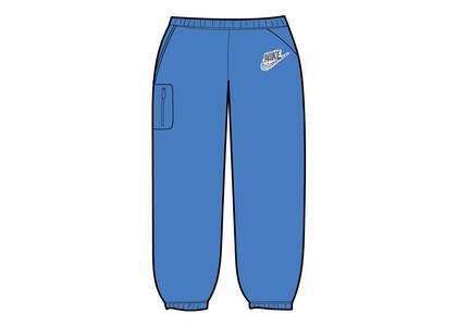 Supreme Nike Cargo Sweatpant Blue (SS21)の写真