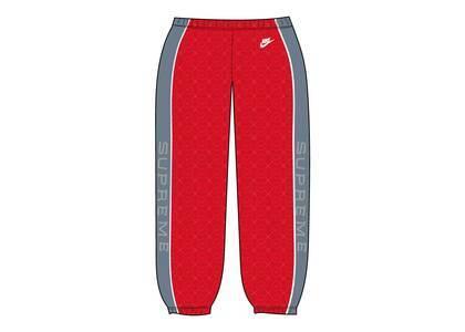 Supreme Nike Velour Track Pant Red (SS21)の写真