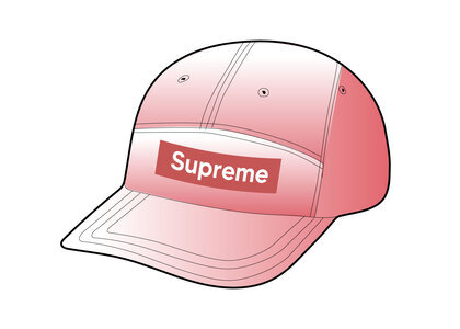 Supreme Spray Canvas Camp Cap Pink (SS21)の写真