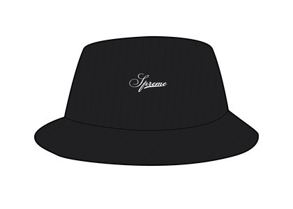 Supreme Terry Corduroy Crusher Black (SS21)の写真