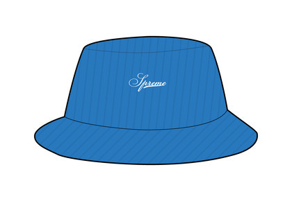 Supreme Terry Corduroy Crusher Blue (SS21)の写真