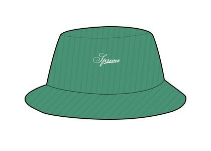 Supreme Terry Corduroy Crusher Green (SS21)の写真
