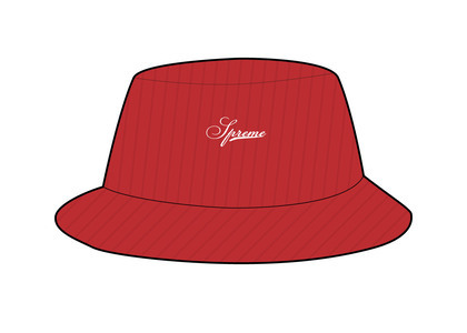 Supreme Terry Corduroy Crusher Red (SS21)の写真