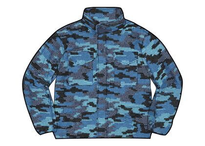 Supreme Logo Camo M-65 Jacket Blue (SS21)の写真