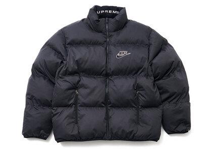 Supreme Nike Reversible Puffy Jacket Black (SS21)の写真