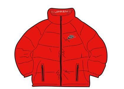 Supreme Nike Reversible Puffy Jacket Red (SS21)の写真