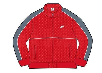 Supreme Nike Velour Track Jacket Red (SS21)の写真