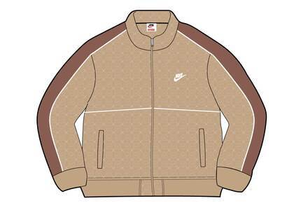 Supreme Nike Velour Track Jacket Tan (SS21)の写真