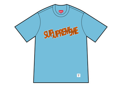 Supreme Cut Logo S/S Top Bright Blue (SS21)の写真