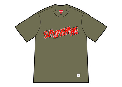 Supreme Cut Logo S/S Top Olive (SS21)の写真