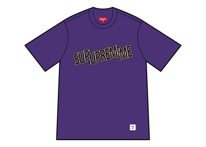 Supreme Cut Logo S/S Top Purple (SS21)の写真