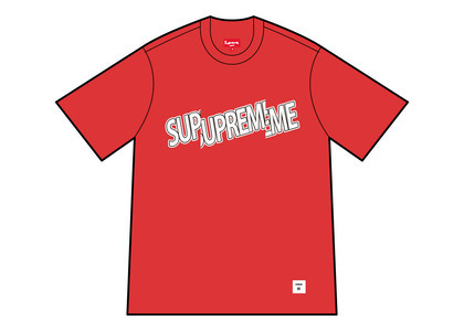 Supreme Cut Logo S/S Top Red (SS21)の写真